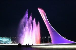 Красная поляна, Олимпийский парк и вечернее шоу фонтанов
