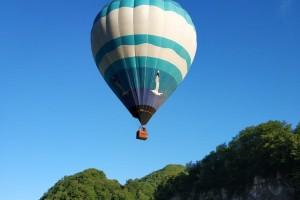 Полёт на воздушном шаре в Сочи